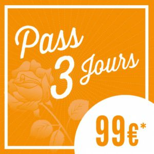 Festival SOLIDAYS 2016 - PASS 3 JOURS A 99�