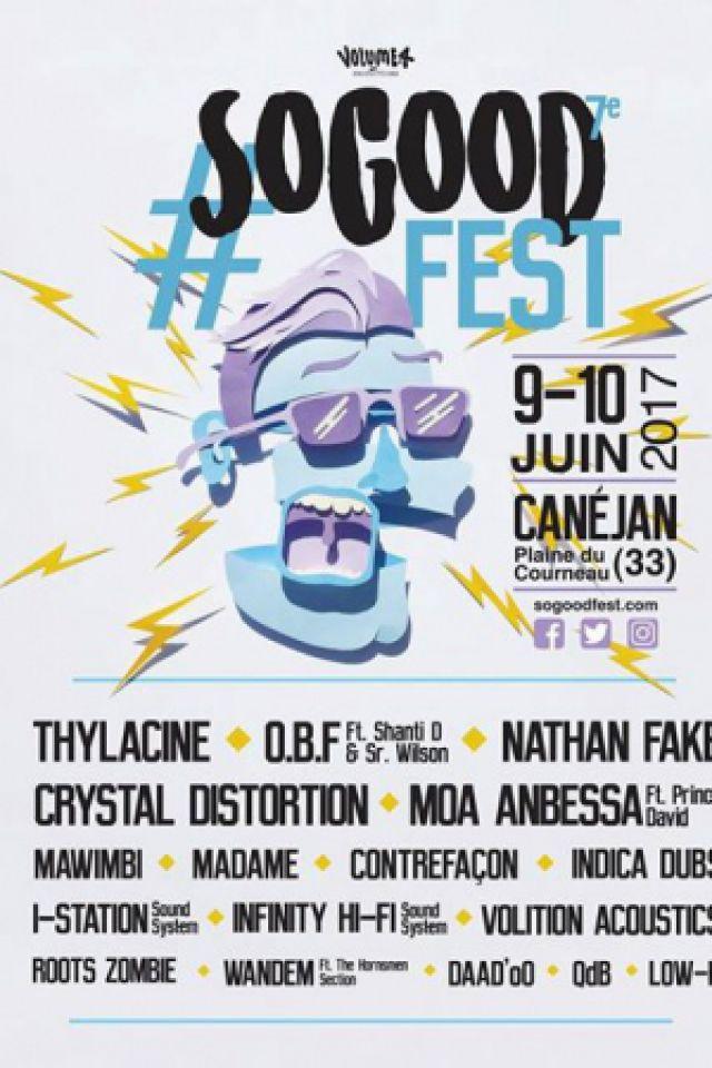 SO GOOD FEST #7 OBF / THYLACINE / NATHAN FAKE... @ Plaine du Courneau - CANÉJAN