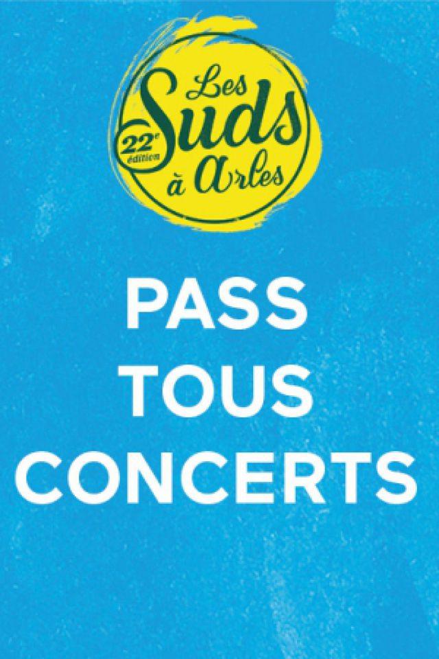 PASS TOUS CONCERTS @ Les Suds à Arles - Multisite - ARLES