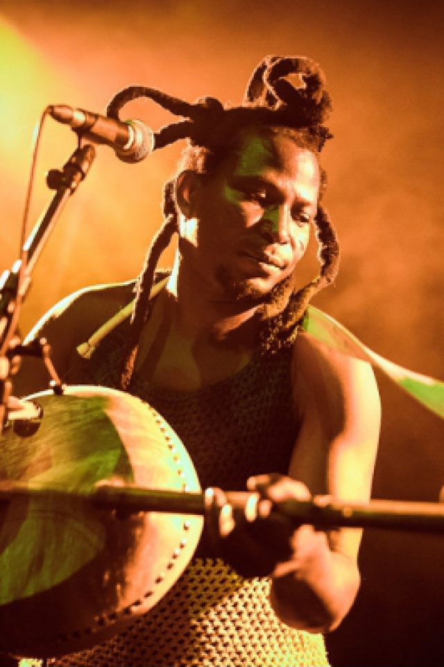 King Ayisoba & ZEA @ La Marbrerie - MONTREUIL