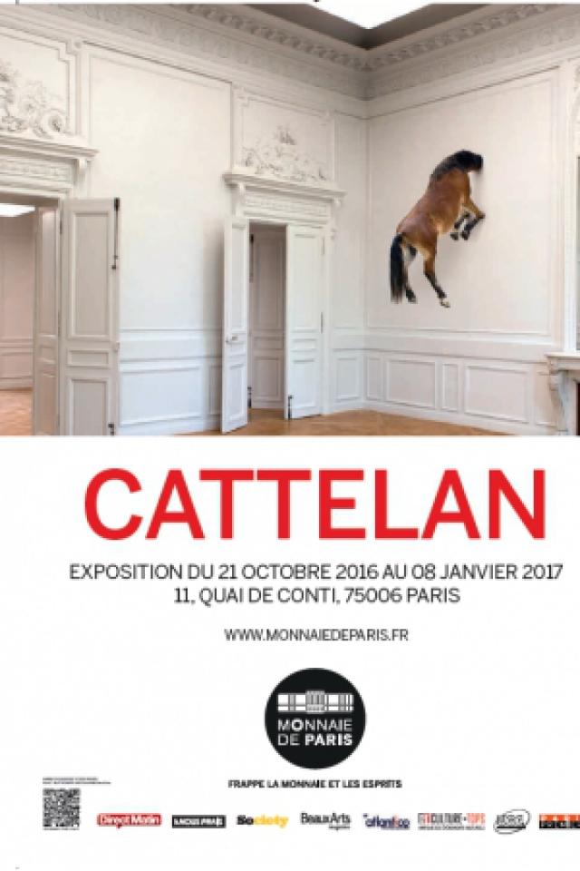 CATTELAN. Not afraid of LOVE @ MONNAIE DE PARIS - PARIS