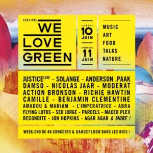 WE LOVE GREEN - SAMEDI @ Bois De Vincennes - PARIS
