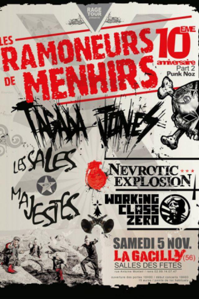 Soirée LES RAMONEURS DE MENHIRS ANNIVERSAIRE