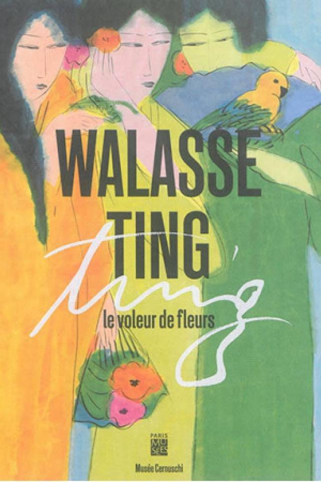 Walasse Ting, Le voleur de fleurs @ Musée Cernuschi - PARIS
