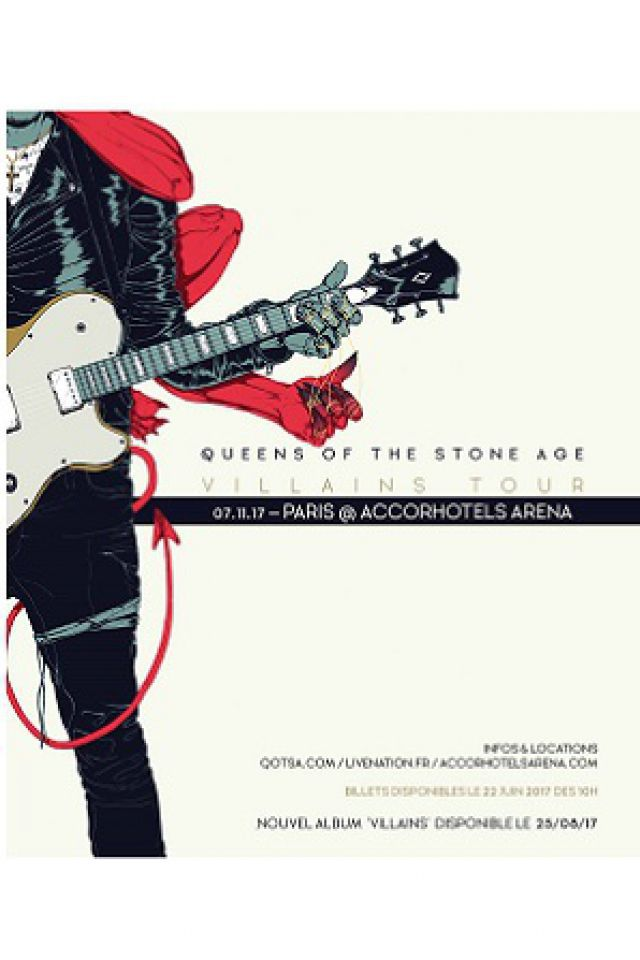 Resultado de imagen para Queens of the Stone Age 07 novembre 2017 - 07 novembre 2017 accorshotels arena