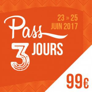 SOLIDAYS 2017 - PASS 3 JOURS 99 € @ Hippodrome de Longchamp - Paris