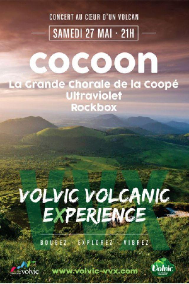 Concert COCOON (VOLVIC VOLCANIC EXPERIENCE) @ Carrière de la Nugère - VOLVIC