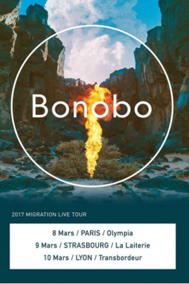 BONOBO @ L'Olympia - Paris