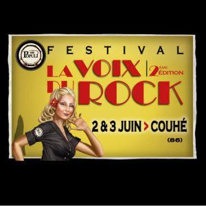 FESTIVAL LA VOIX DU ROCK - LES SHERIFF/ COLOURS IN THE STREET @ Abbaye de Valence - COUHÉ
