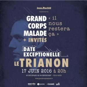 Concert GRAND CORPS MALADE + invit�s