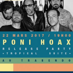 Concert PONI HOAX : Release Party