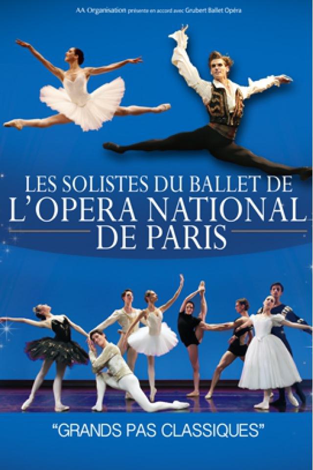 LES SOLISTES DU BALLET DE L'OPERA NATIONAL DE PARIS @ RADIANT-BELLEVUE - CALUIRE ET CUIRE
