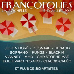 Festival FRANCOFOLIES 2017 : CHRISTOPHE MAÉ, SOPRANO, BOULEVARD DES AIRS