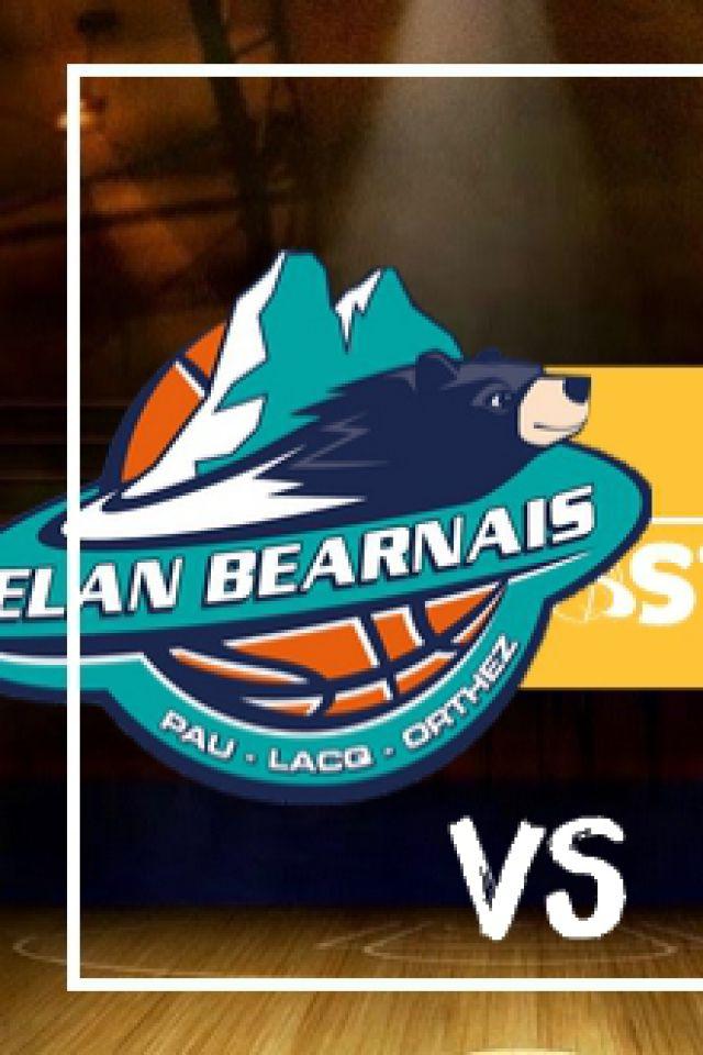 ELAN BEARNAIS / BC OSTENDE @ Palais des Sports de Pau - PAU