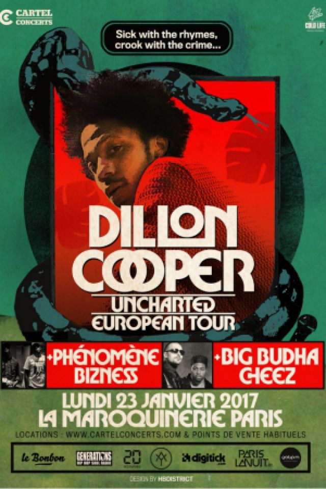DILLON COOPER @ La Maroquinerie - PARIS