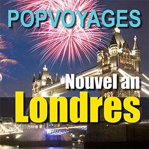 NOUVEL AN LONDRES DÉPART RENNES @ BUS POPVOYAGES DÉPART RENNES - RENNES