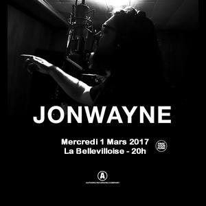 JONWAYNE @ La Bellevilloise - Paris