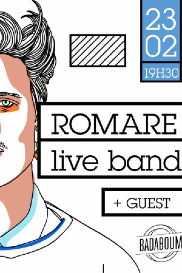 ROMARE (LIVE) + SÉBASTIEN FORRESTER @ Badaboum - PARIS