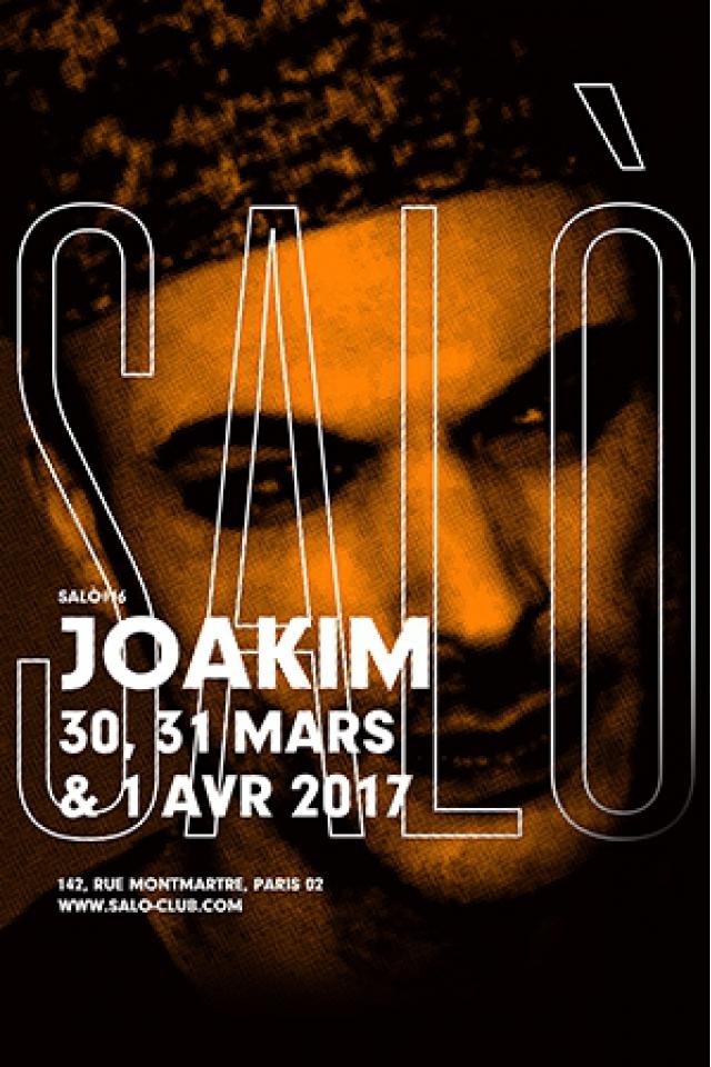 SALÒ #16 : JOAKIM / KRIKOR / TOULOUSE LOW TRAX / 67YARC @ SALÒ - PARIS