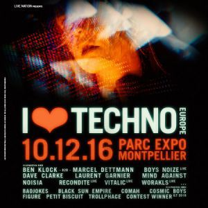 Soirée I LOVE TECHNO EUROPE 2016