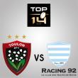 Match RC TOULON - RACING 92