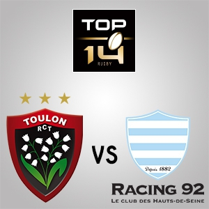 RC TOULON - RACING 92 @ STADE MAYOL - TOULON