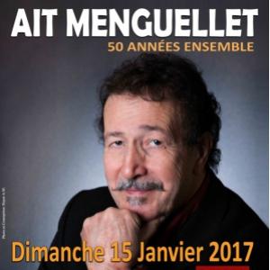 Concert AIT MENGUELLET - 50 Années Ensemble