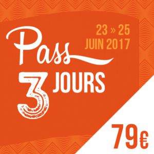 SOLIDAYS 2017 - PASS 3 JOURS 79 € @ Hippodrome de Longchamp - Paris