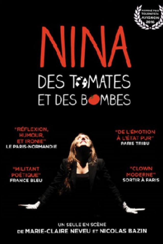 NINA, DES TOMATES ET DES BOMBES @ Essaïon Théâtre - Paris