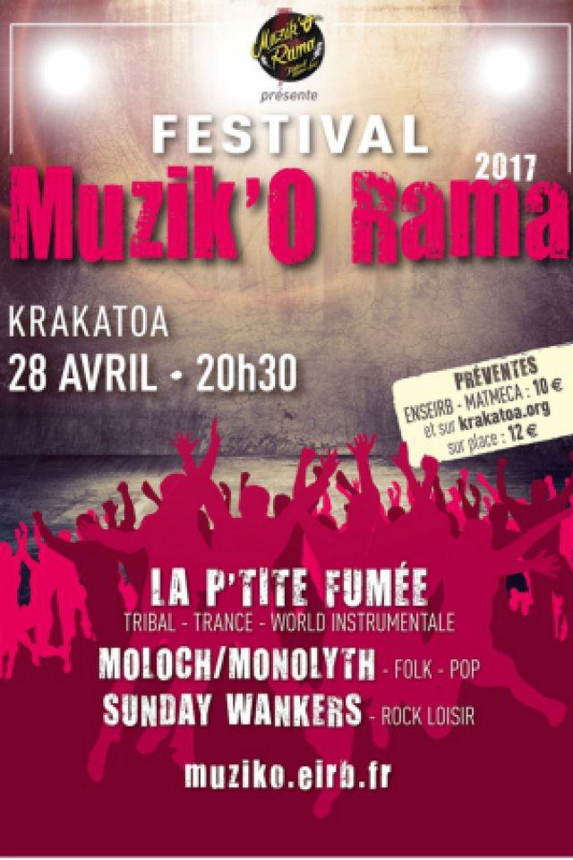 FESTIVAL MUZIK'O RAMA 2017 @ Krakatoa - Mérignac