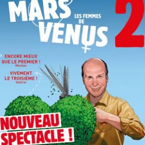 Théâtre LES HOMMES VIENNENT DE MARS, LES FEMMES DE VENUS 2