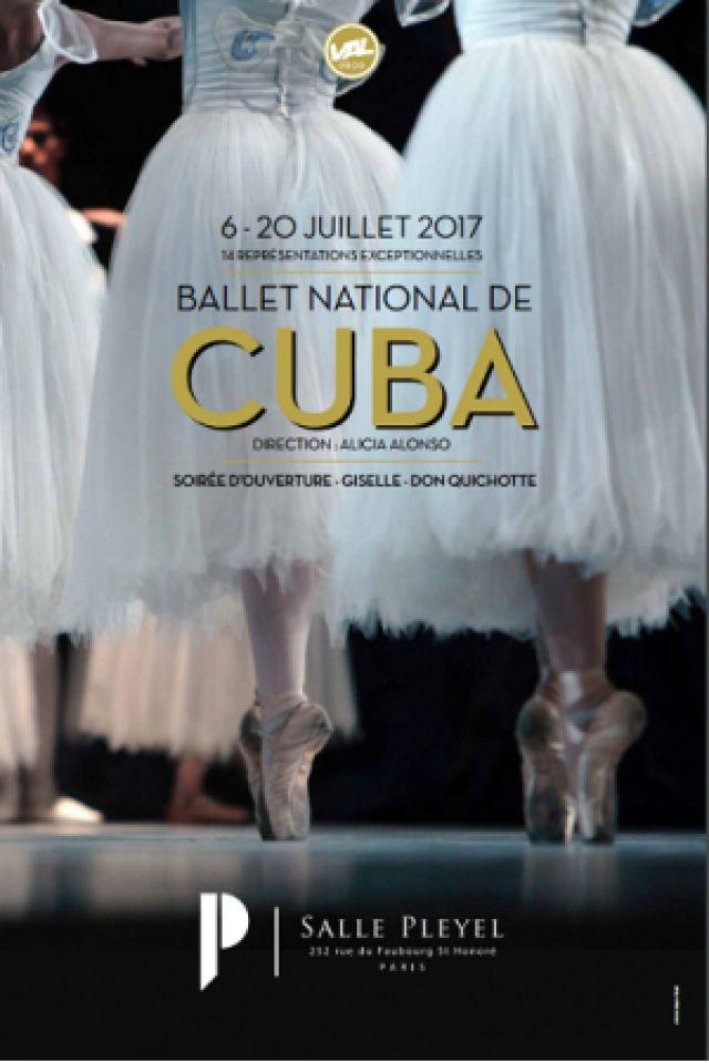 LE BALLET NATIONAL DE CUBA - SOIREE D'OUVERTURE @ Salle Pleyel - Paris
