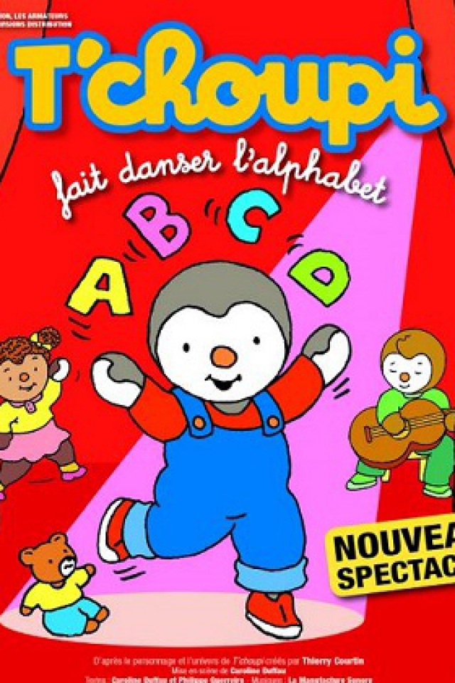 TCHOUPI FAIT DANSER L'ALPHABET @ Centre des Congrès - Angers