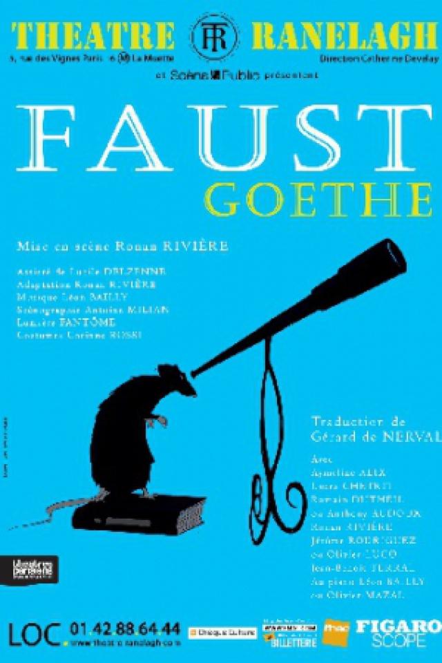 FAUST De Goethe @ Théâtre le Ranelagh - Paris