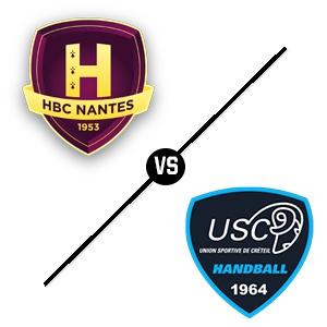 HBC Nantes - Créteil @ Salle métropolitaine de la Trocardière - REZÉ