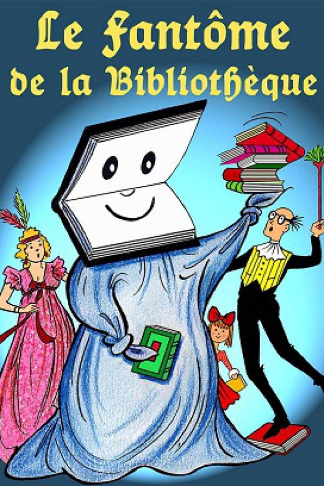 LE FANTÔME DE LA BIBLIOTHÈQUE @ Le Funambule Montmartre - PARIS