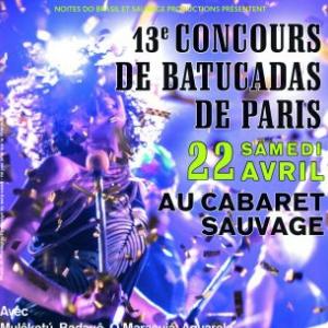 Soirée 13e CONCOURS DE BATUCADAS DE PARIS