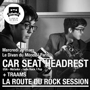 Concert Car Seat Headrest + Traams