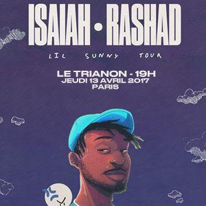 Concert ISAIAH RASHAD