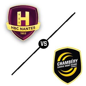 HBC Nantes - Chambéry @ Salle métropolitaine de la Trocardière - REZÉ