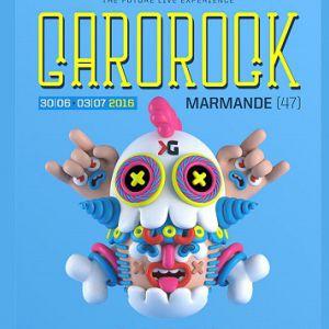 Festival GAROROCK 20' - PASS 1 JOUR VENDREDI