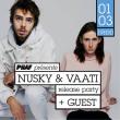 Concert Piiaf présente : Nusky & Vaati + Nakatomi Plaza à PARIS @ Badaboum - Billets & Places