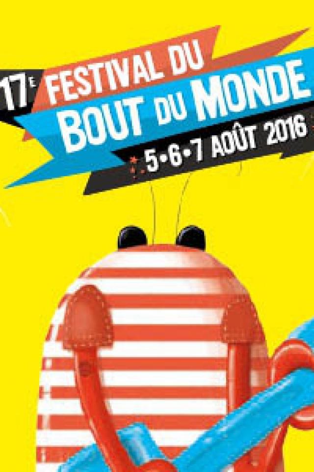 FESTIVAL DU BOUT DU MONDE FORFAIT 3 JOURS @ PRAIRIE DE LANDAOUDEC  - CROZON