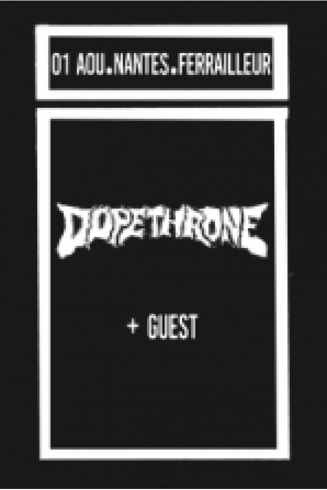 Concert DOPETHRONE + guest