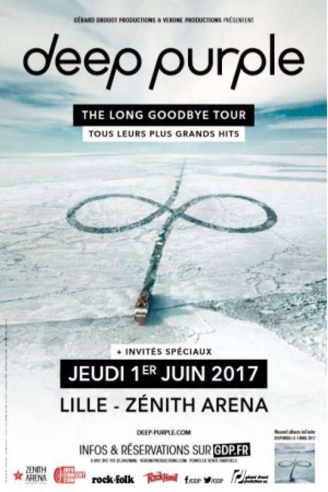 Concert DEEP PURPLE à LILLE @ Zénith Arena  - Billets & Places
