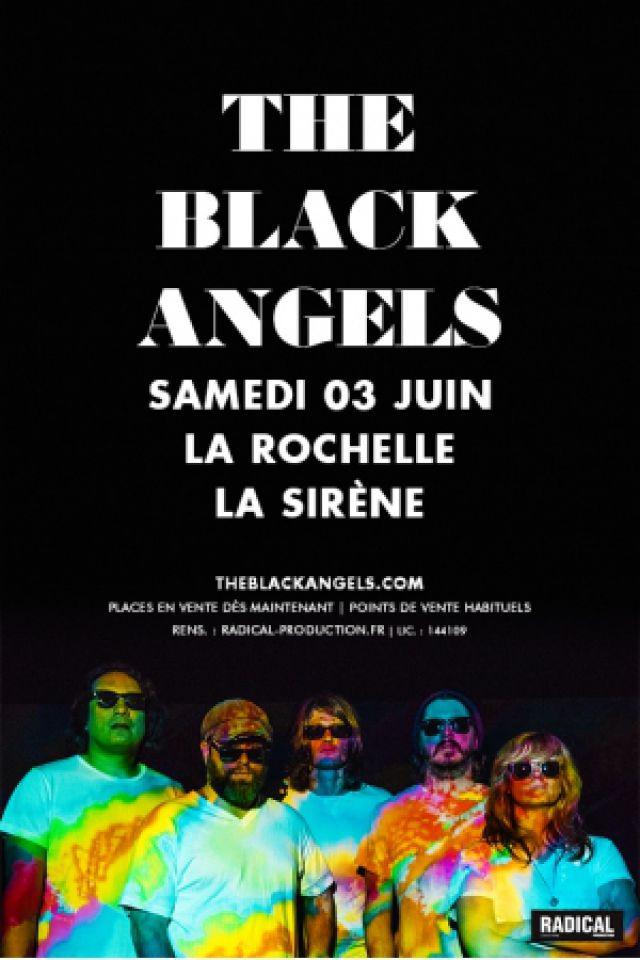THE BLACK ANGELS + ELEPHANT STONE @ LA SIRENE  - LA ROCHELLE