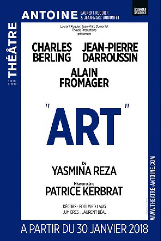 """""""ART"""" @ Théâtre Antoine - Paris"""