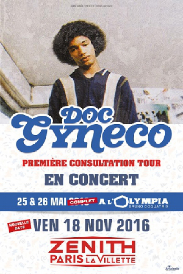 DOC GYNECO @ Zénith Paris La Villette - Paris