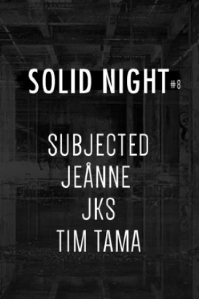 Billets Fée Croquer: SN#8 Subjected / jeånne / JKS / Tim Tama - Glazart