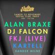 Soirée VULTURE x ROCHE MUSIQUE : FKJ, ALAN BRAXE, DJ FALCON, KARTELL à Paris @ Le Social Club - Billets & Places